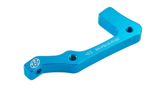 Reverse IS-PM Disc Adapter Shimano 180 mm hinten hellblau